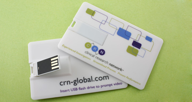 Credit Card / Visiting Card Flash Drives