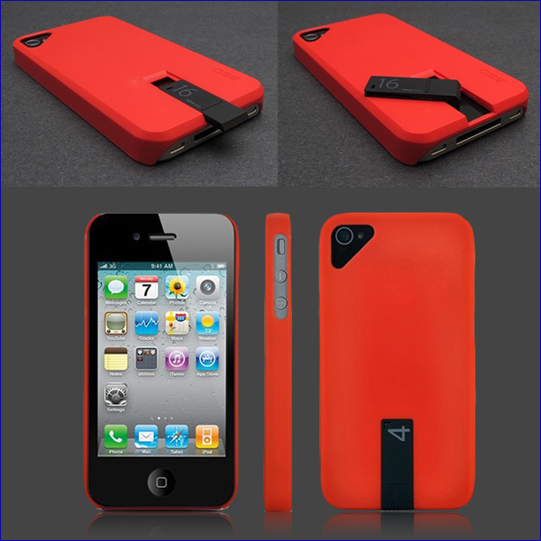 IPHONE CASE WITH BUILT IN USB FLASH DRIVE