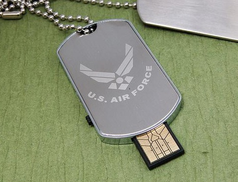 MILITARY STYLE DOGTAG USB PEN DRIVE