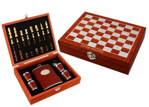 Chess Wine set