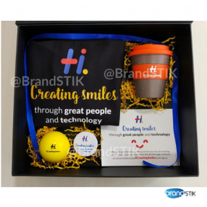 Hexaware swag gift set BrandSTIK