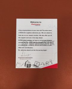 Welcome Kit - Note