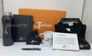 ZeTechno welcome kit@BrandSTIK