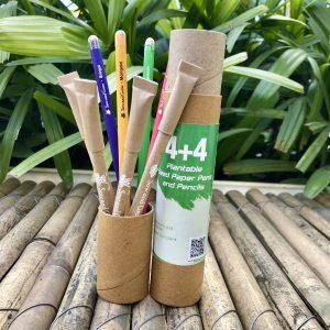 plantable pen pencil combo