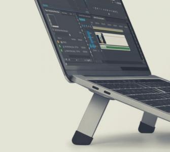 Laptop stands blog banner
