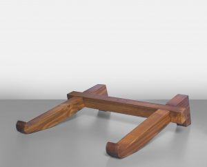 pine wood laptop stand